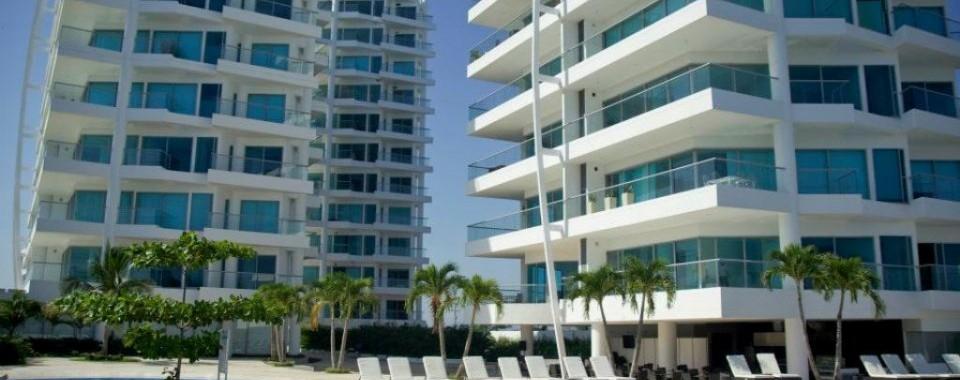 Fachada y torres. Fuente: sonesta.com/Cartagena/