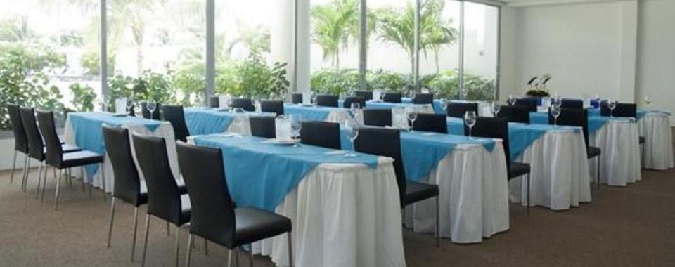 Salón de eventos.  Fuente: sonesta.com/Cartagena/